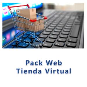Pack web Tienda Virtual